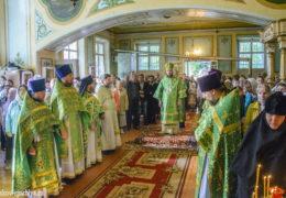 В день памяти прп. Онуфрия Мальского в поселке Малы состоялось праздничное богослужение