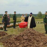 20 июля 2018 года в Островском районе состоялось перезахоронение останков воинов-героев, погибших в годы Великой Отечественной Войны.