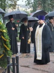 23 июля 2018 года, в день 74-ой годовщины освобождения города Пскова от немецко-фашистских захватчиков на могиле Неизвестного солдата прошло заупокойное богослужение.