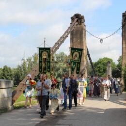 21 июля 2018 года, в день прославления Казанской иконы Божией Матери, в городе Острове прошел праздничный крестный ход.