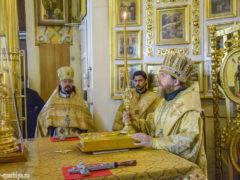 12 августа 2018 года, в Неделю 11-ю по Пятидесятнице, митрополит Псковский и Порховский Тихон совершил Божественную Литургию в Свято-Успенском Псково-Печерском монастыре.