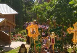 5 августа 2018 года, в Неделю 10-тую по Пятидесятнице, день прославления иконы Пресвятой Богородицы «Всех скорбящих Радость», в Свято-Троицком Творожковском женском монастыре прошли торжества по случаю престольного праздника.