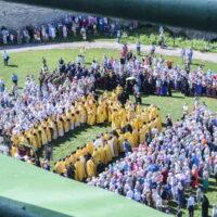 24 июля 2018 года, в день памяти святой равноапостольной великой княгини Ольги, митрополит Псковский и Порховский Тихон возглавил Божественную Литургию в в Свято-Троицком кафедральном соборе города Пскова и торжественный молебен на Соборной площади Псковского кремля.