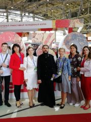 """23 августа в Москве на ВДНХ состоялся III Международный Православный Молодёжный форум """"Прошлое. Настоящее. Будущее""""."""