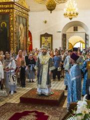 2 сентября 2018 года, в Неделю 14-ю по Пятидесятнице, митрополит Псковский и Порховский Тихон возглавил Божественную Литургию в Свято-Троицком кафедральном соборе города Пскова.