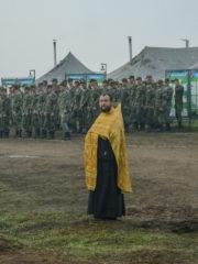 6 сентября 2018 года, в преддверие дня памяти святого благоверного великого князя Александра Невского, на полигоне Владимирский Лагерь прошла воинская Божественная Литургия.