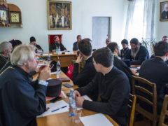1 сентября 2018 года в доме Причта при Свято-Троицком кафедральном соборе прошло совещание, посвященное развитию миссионерской деятельности в Псковской епархии.