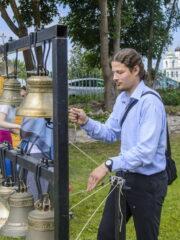 Колокольный звон в праздник Крещения Руси