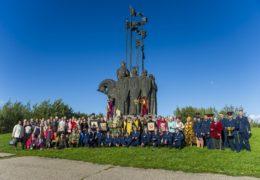 13 сентября 2018 года состоялся традиционный ежемесячный крестный ход вокруг города Пскова.