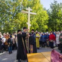 27 сентября 2018 года состоялось освящение креста и купола храма в честь святителя Луки, архиепископа Симферопольского при городской больнице города Пскова.