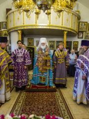 29 сентября 2018 года в Рождества Богородицы Снетогорском женском монастыре почтили память схиигумении Людмилы (Ваниной)