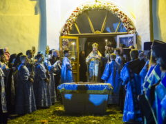 Проповедь митрополита Псковского и Порховского Тихона на чине погребения плащаницы Пресвятой Богородицы.