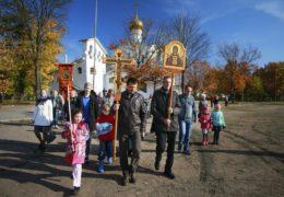 14 октября 2018 года состоялся традиционный ежемесячный крестный ход вокруг города Пскова.