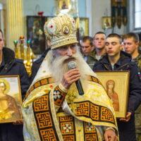 3 октября 2018 года состоялось принесение в Псковскую епархию мощей святых – покровителей воинства.