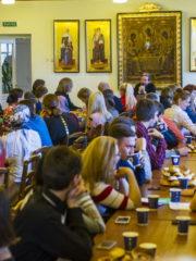 20 октября 2018 года митрополит Псковский и Порховский Тихон провел встречу с православной молодежью города Пскова.