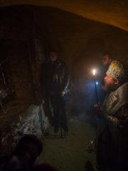 21 октября 2018 года, в Неделю 21-ю по Пятидесятнице, митрополит Псковский и Порховский Тихон совершил Божественную Литургию в Успенском соборе Псково-Печерского монастыря.