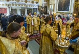 21 октября 2018 года в Свято-Успенском Псково-Печерском монастыре почтили память архимандрита Тихона (Секретарева).
