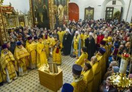 28 октября 2018 года в Псковской епархии почтили память митрополита Иоанна (Разумова).
