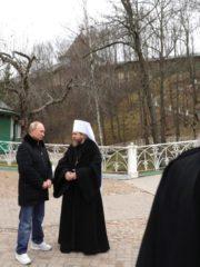 17 ноября 2018 года Псковскую епархию посетил Президент России Владимир Путин.