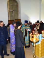 11 ноября 2018 года в Храме Вознесения Господня с. Бельское Устье прошло первое, более чем за 50 лет, богослужение.
