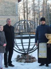 115-летие Агротехнического колледжа в Пскове отметили праздничным молебном.