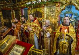В храме святой великомученицы Варвары города Печоры прошел престольный праздник.