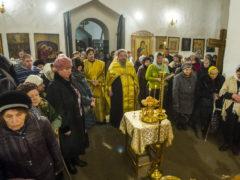 В храме святителя Николая (со Усохи) города Пскова прошел престольный праздник.