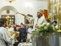 19 января 2019 года, в праздник Богоявления, Крещения Господня, митрополит Псковский и Порховский Тихон совершил Божественную Литургию и чин великого освящения воды Свято-Троицком кафедральном соборе города Пскова.