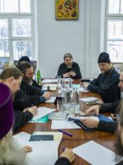 В Псковском епархиальном управлении прошли итоговые рабочие совещания.