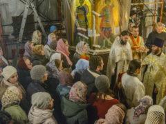 В храме святителя Василия Великого (на Горке) города Пскова прошел престольный праздник.