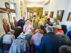 В городе Пскове прославили святую блаженную Ксению Петербургскую.