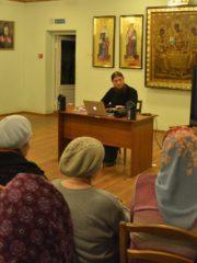 В стенах Приходского дома в Псковском Кремле прошла первая встреча в рамках цикла «Духовная академия для мирян».