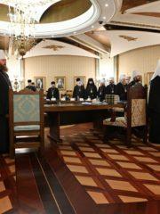 1 марта 2019 года митрополит Псковский и Порховский Тихон принял участие в заседанииВысшего Церковного СоветаРусской Православной Церкви.