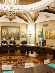 20 марта 2019 года митрополит Псковский и Порховский Тихон принял участие в очередномзаседании Высшего Церковного Совета Русской Православной Церкви.