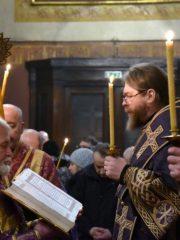 23-24 марта 2019 года митрополит Псковский и Порховский Тихон принял участие в богослужениях в Таллинском кафедральном соборе Эстонской Православной Церкви Московского Патриархата.