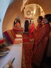 14 мая 2019 года Псковскую епархию посетилархиепископ Берлинский и Германский Марк.