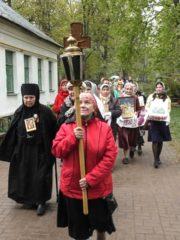 2 мая 2019 года состоялся традиционный ежемесячный крестный ход вокруг города Пскова.