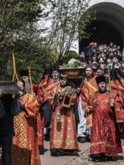 8 мая 2019 года митрополит Псковский и Порховский Тихон совершил отпевание Татианы Смирновой, долгие годы исполнявшей послушание письмоводителя архимандрита Иоанна (Крестьянкина).