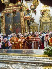 5 мая 2019 года, в Неделю Антипасхи, апостола Фомы и день памяти благоверного князя Всеволода-Гавриила Псковского, в Свято-Троицком кафедральном соборе, где почивают мощи святого, была совершена праздничная Божественная Литургия.