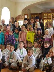 В Стругах Красных прошел Пасхальный фестиваль воскресных школ Плюсского благочиния.