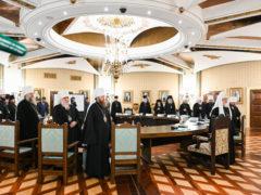 13 июня 2019 года митрополит Псковский и Порховский Тихон принял участие в очередном заседании Высшего Церковного Совета Русской Православной Церкви.