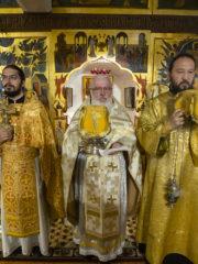 8 июня 2019 года в Псково-Печерском монастыре была совершена Божественная Литургия на китайском языке.