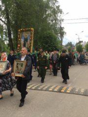28-29 мая 2019 года в Порховском районе епархии состоялся традиционный ежегодный крестный ход в честь преподобного Никандра Пустынножителя.
