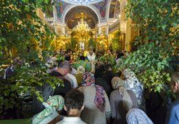 Вечером 15 июня 2019 года, накануне праздника Святой Троицы, митрополит Псковский и Порховский Тихон возглавил всенощное бдение в Михайловском соборе Свято-Успенского Псково-Печерского монастыря.