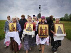 26 июня 2019 года состоялся традиционный ежемесячный крестный ход вокруг города Пскова.