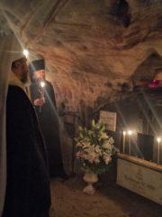 13 июля 2019 года, в празднование Собора святых 12-ти апостолов, митрополит Псковский и Порховский Тихон совершил Божественную Литургию в Сретенском храме Свято-Успенского Псково-Печерского монастыря.