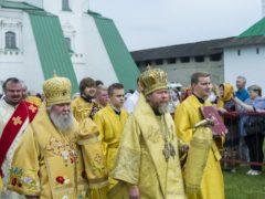 В городе Пскове прошли торжества по случаю 1050-летия со дня отшествия ко Господу святой равноапостольной княгини Ольги.