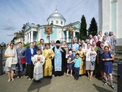 26 августа 2019 года состоялся традиционный ежемесячный крестный ход вокруг города Пскова.