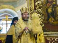 Вечером 3 августа 2019 года, накануне Недели 7-й по Пятидесятнице, митрополит Псковский и Порховский Тихон возглавил всенощное бдение в Свято-Троицком кафедральном соборе города Пскова.