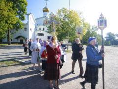 11 сентября 2019 года состоялся традиционный ежемесячный крестный ход вокруг города Пскова.